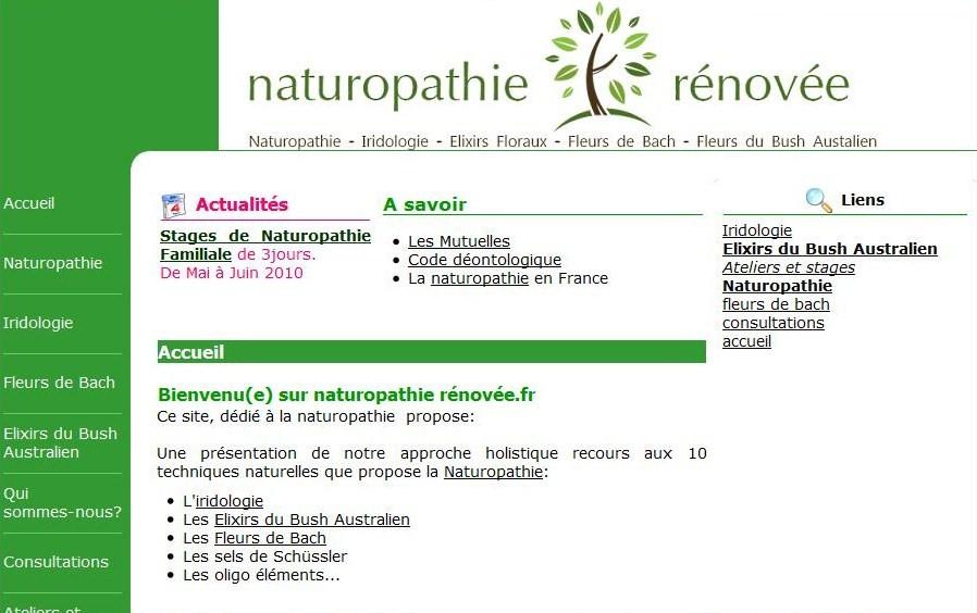 Naturopathie rénovee