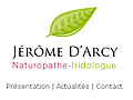Jérôme D'ARCY, Naturopathe - Iridologue à Montpellier