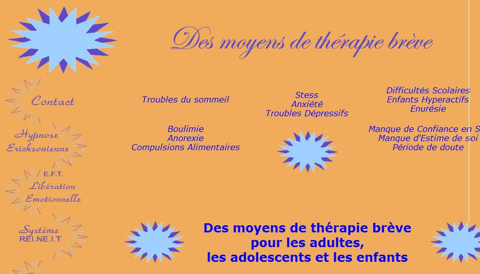 Therapose : Thérapies Brèves, Hypnose Ericksonienne, E.F.T., Quantum Touch ®
